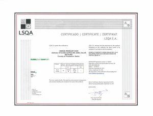 Hrana Produkt sertifikat