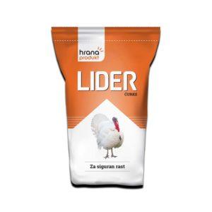 Hrana produkt LIDER ĆU 4-16% za tov ćurića stočna hrana premiks koncentrat